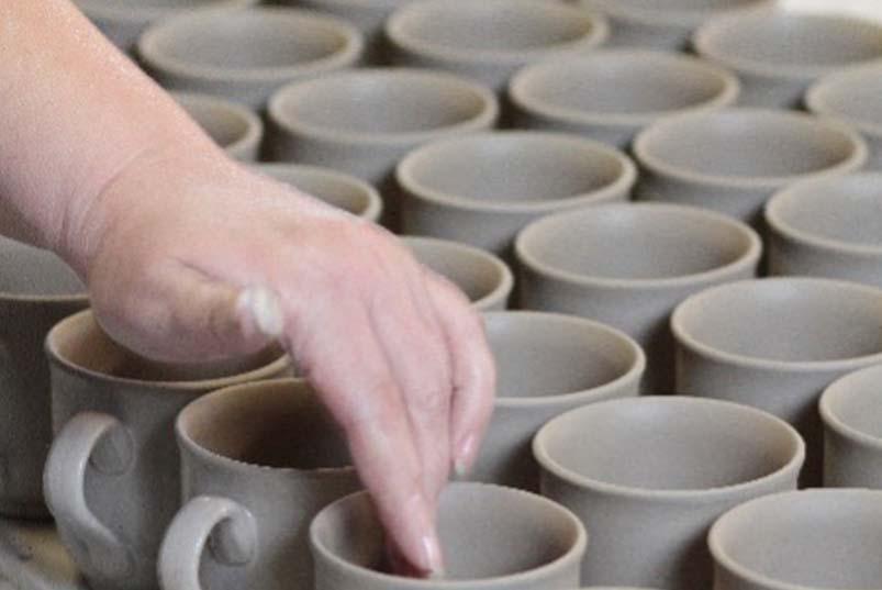 Fertigung Tassen aus Keramik